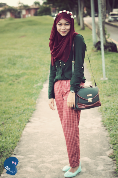 Outfit Of The Day Singapore Hijab Girl